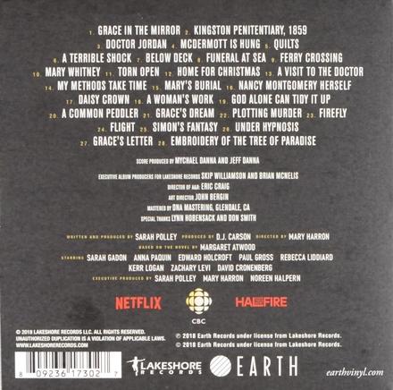Alias Grace : original mini-series soundtrack