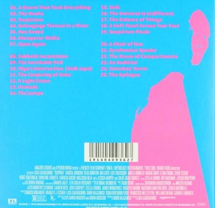 Suspiria : music for the Luca Guadagnino film