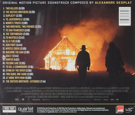 The Sisters Brothers : original motion picture soundtrack