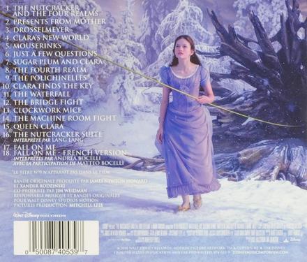 Casse-noisette et les quatre royaumes : bande originale du film