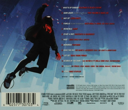 Spider-man : Into the spider-verse : soundtrack from & inspired by the motion picture