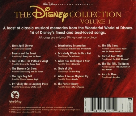 The Disney collection : favourite original soundtrack recordings. Vol. 1