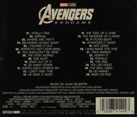 Avengers : Endgame : original motion picture soundtrack