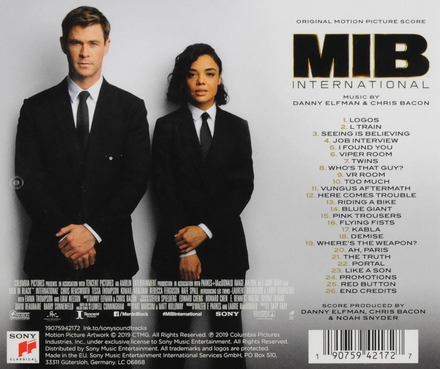 MIB international : original motion picture score