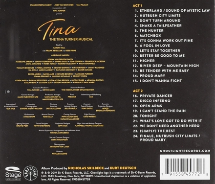 Tina : the Tina Turner musical : original cast recording
