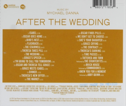 After the wedding : original motion picture soundtrack