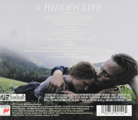 A hidden life : original motion picture soundtrack
