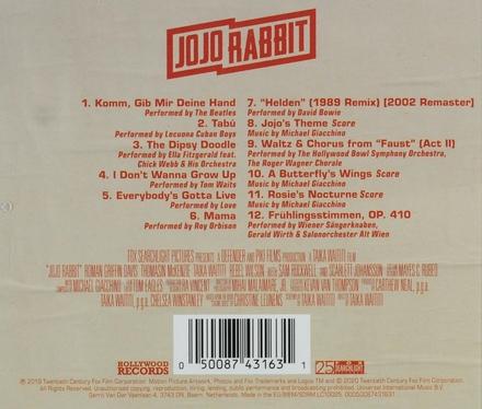 Jojo Rabbit : original motion picture soundtrack