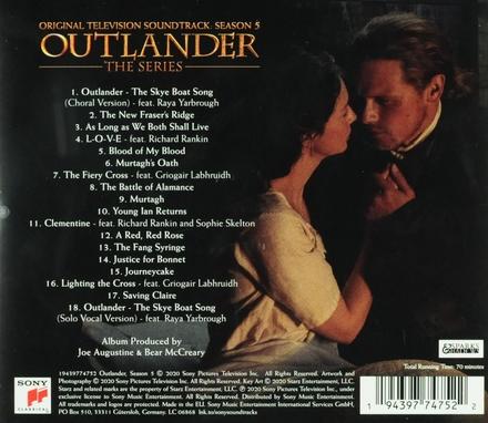 Outlander : the series : original television soundtrack. Season 5