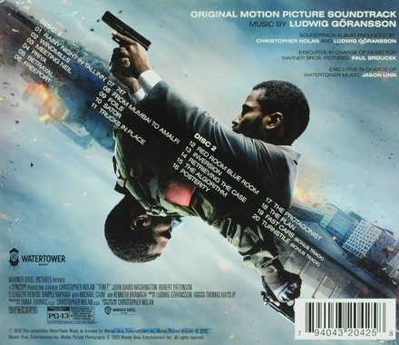 Tenet : original motion picture soundtrack