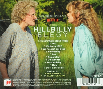 Hillbilly elegy : music from the Netflix film