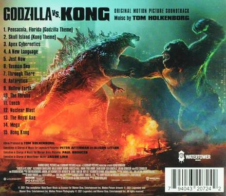 Godzilla vs. Kong : original motion picture soundtrack