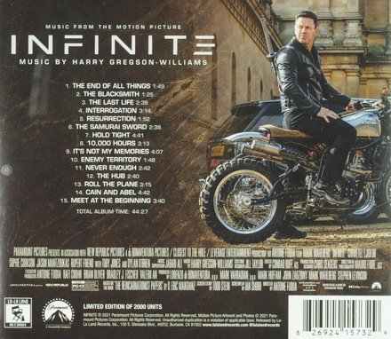 Infinite : Music from the motion picture