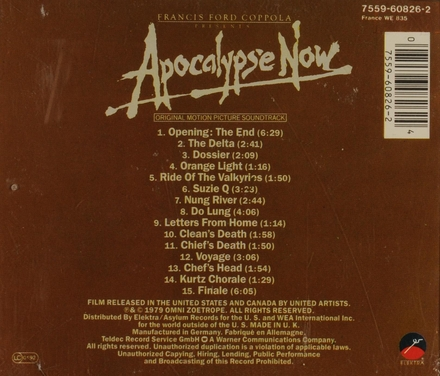 Apocalypse now : original motion picture soundtrack