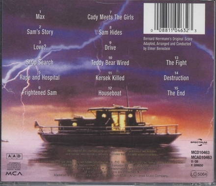 Cape Fear : music from the motion picture soundtrack