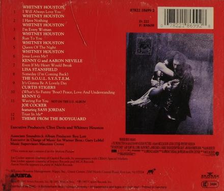 The bodyguard : original motion picture soundtrack