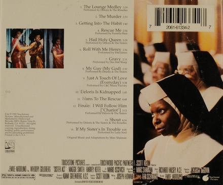 Sister act : music from the original motion picture soundtrack