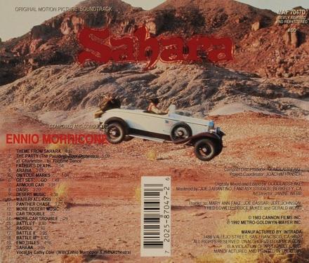 Sahara [OST]