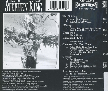 The best of Stephen King. vol.1