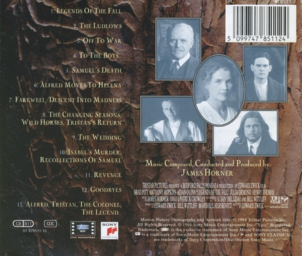 Legends of the fall : original motion picture soundtrack