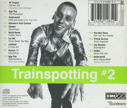 Trainspotting : music from the motion picture. Vol. 2
