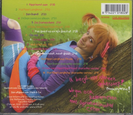 Pippi Langkous : de musical