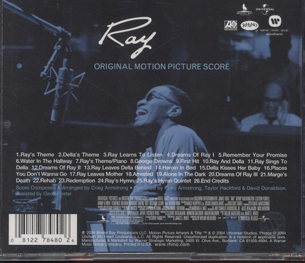 Ray : original motion picture score