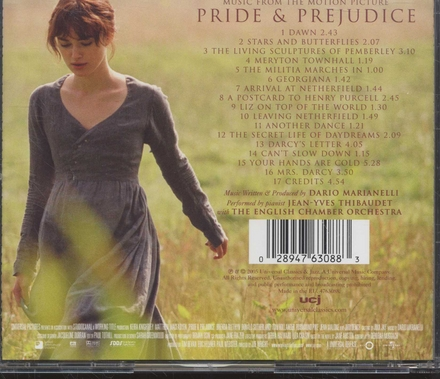 Pride & prejudice : music from the motion picture