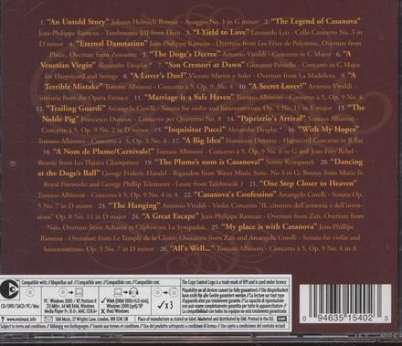 Casanova : original soundtrack