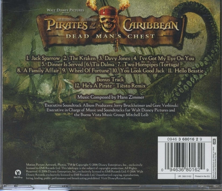 Pirates of the Caribbean : dead man's chest : an original Walt Disney Records soundtrack