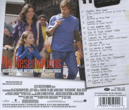 No reservations : music from the motion picture soundtrack
