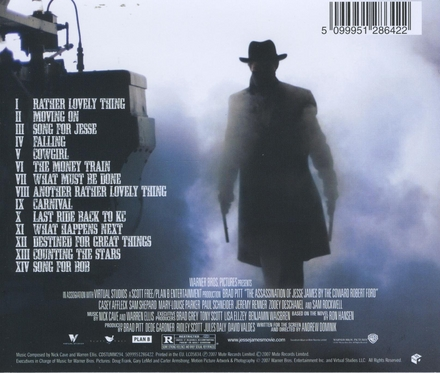 The assassination of Jesse James by the coward Robert Ford : music from the motion picture