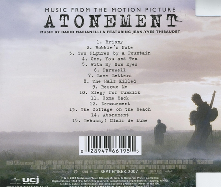 Atonement : music from the motion picture