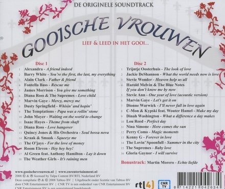Gooise vrouwen : De muziek uit de populaire tv-serie