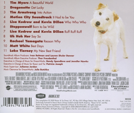 Hotel for dogs : music from the motion picture