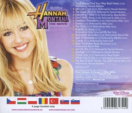Hannah Montana : the movie : original motion picture soundtrack