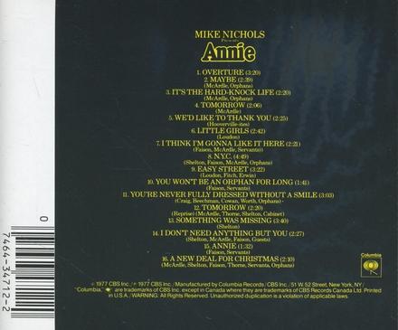 Annie : Original cast