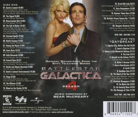 Battlestar Galactica season 4 : original soundtrack from the SYFY television series