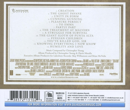 Creation : the true story of Charles Darwin : original motion picture soundtrack