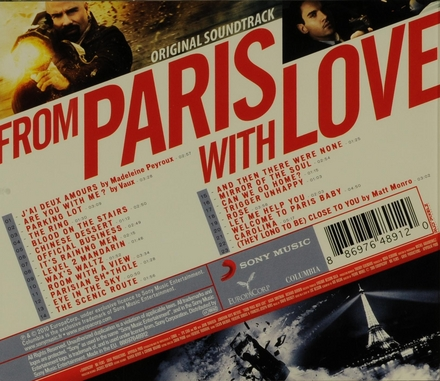 From Paris with love : original soundtrack