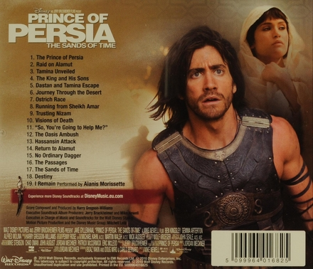 Prince of Persia : the sands of time : an original Walt Disney Records soundtrack