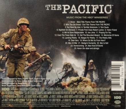 The Pacific : music from the HBO miniseries