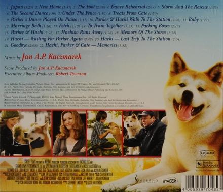 Hachi : a dog's tale : original motion picture soundtrack
