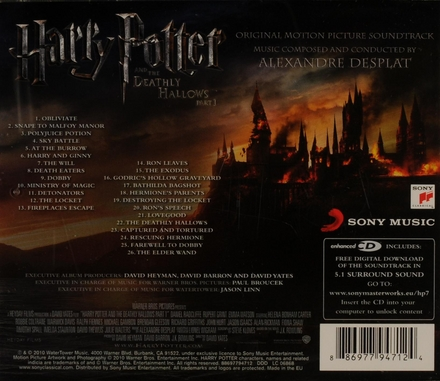 Harry Potter and the deathly hallows : original motion picture soundtrack. Vol. 1