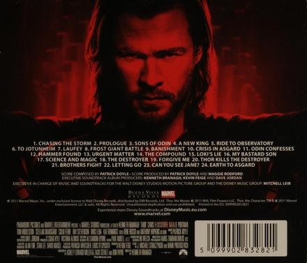 Thor : original soundtrack