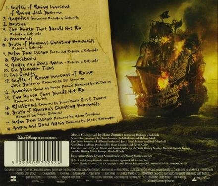 Pirates of the Caribbean : on stranger tides : an original Walt Disney Records soundtrack