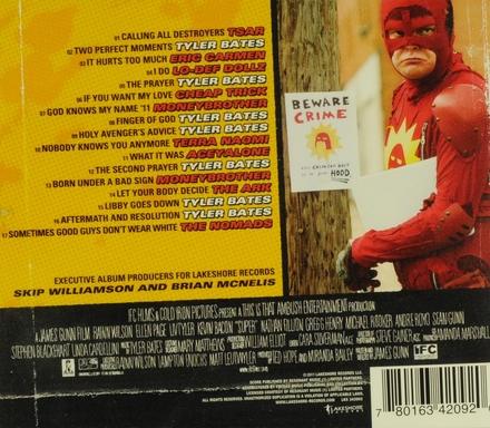 Super : original motion picture soundtrack