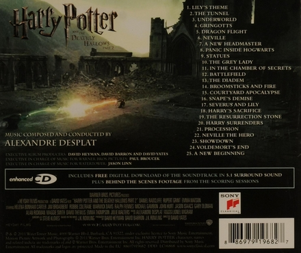 Harry Potter and the deathly hallows : original motion picture soundtrack. Part 2