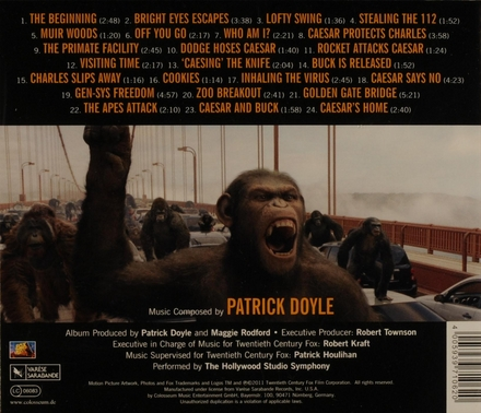 Rise of the planet of the apes : original motion picture soundtrack