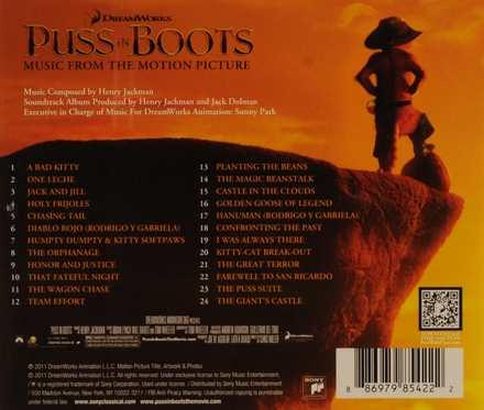 Puss in boots : music from the motion picture